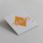 お仕事 活版印刷で名刺を作成