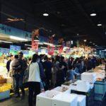 こんなに人がいるんだってくらい賑わってた。珍しい魚も並んでて、市場はやっぱり楽しい。#浜松市中央卸売市場 #マンボウ (Instagram)