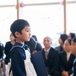 息子、幼稚園を卒園する