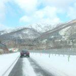 北海道最終日、まさかの雪! (Instagram)